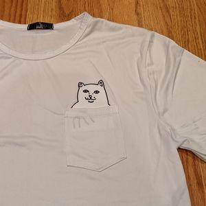 Novelty cat t-shirt